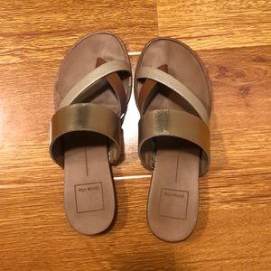 Dolce Vita size 5.5 sandals - gold neutrals